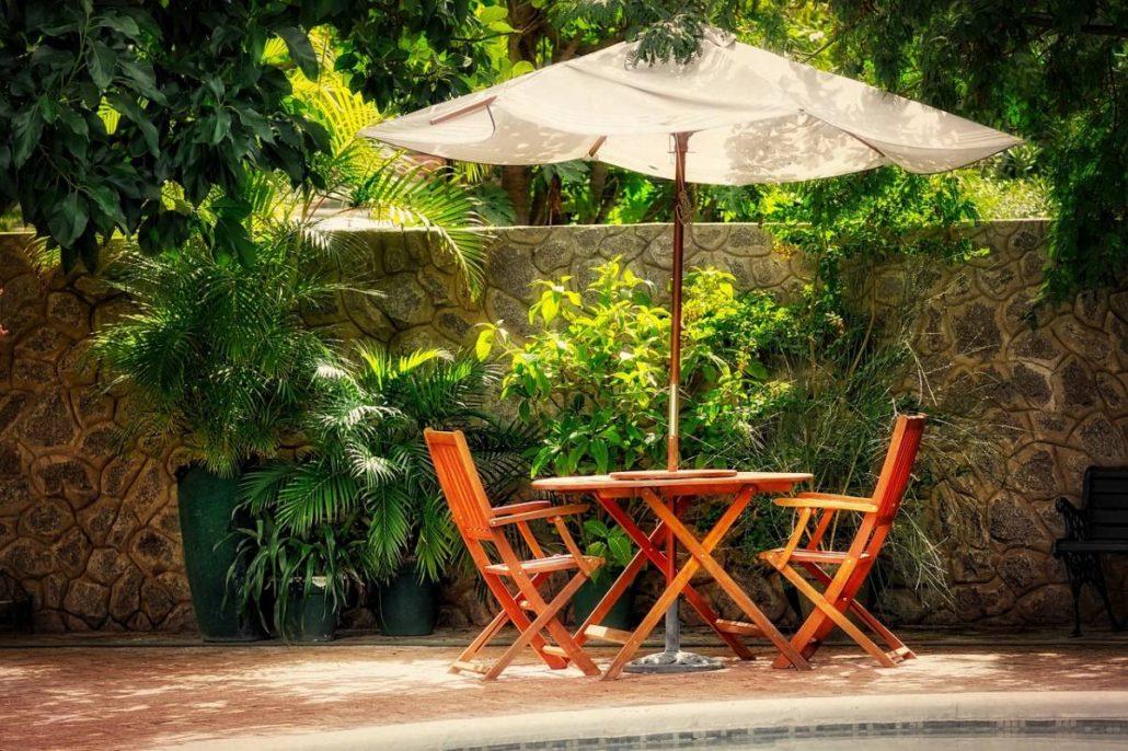 comment choisir son parasol de jardin la maison vivante. Black Bedroom Furniture Sets. Home Design Ideas