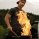 Eteindre un barbecue